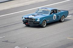 Classic car race Stock Images