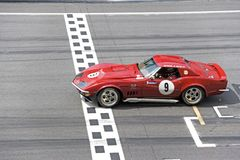 Classic Car Race royalty free stock images