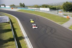 Classic car race Stock Photo