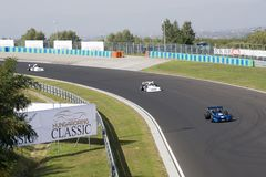 Classic car race Royalty Free Stock Image