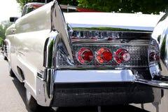 Classic car rear end Royalty Free Stock Photos
