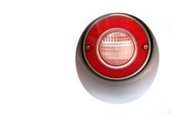 Classic car rear lamp stock image