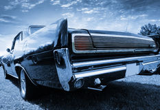 Classic car rear view Stock Photo