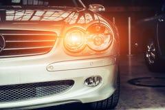 Classic car. Royalty Free Stock Photo