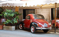Classic car Rome. Stock Photo