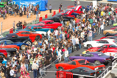Classic car show Royalty Free Stock Images