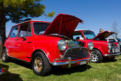 Classic Car Show. VICTORIA/AUSTRALIA - SEPTEMBER 2015: Classic car show on the 13 September 2015 in Corowa Stock Image