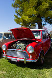 Classic Car Show. VICTORIA/AUSTRALIA - SEPTEMBER 2015: Classic car show on the 13 September 2015 in Corowa Stock Photography
