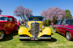 Classic Car Show. VICTORIA/AUSTRALIA - SEPTEMBER 2015: Classic car show on the 13 September 2015 in Corowa Royalty Free Stock Photos
