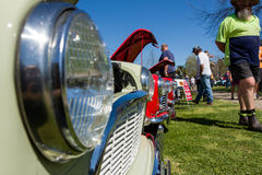 Classic Car Show. VICTORIA/AUSTRALIA - SEPTEMBER 2015: Classic car show on the 13 September 2015 in Corowa Stock Photo