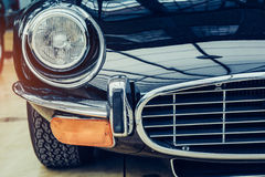 Classic car. Some antique classic cars Black Royalty Free Stock Image
