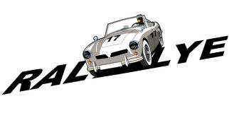 Classic car sports Stock Image