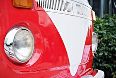 Classic car. Super Sport Racing Car Detail on a Wheel and Breaks Stock Photos