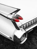 Classic car tail fin and light detail Stock Image