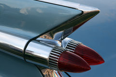Classic Car Tail Light Stock Photo