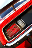 Classic Car Tail Light. Classic car Barracuda tail light at auto show Royalty Free Stock Images
