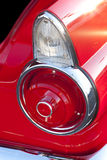 Classic Car Tail Lights. And Fins royalty free stock images