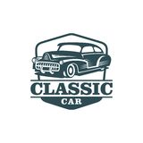 Classic Car Vector Template Royalty Free Stock Image