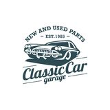 Classic Car Vector Template Royalty Free Stock Photos