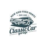 Classic Car Vector Template Royalty Free Stock Photos