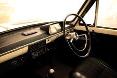 Classic car - vehicle interior Stock Photos