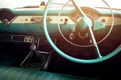 Classic car - vehicle interior Royalty Free Stock Image