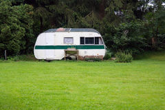 Classic caravan Royalty Free Stock Images