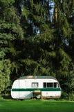 Classic caravan Stock Images