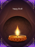 Classic card design for diwali festival Stock Photos