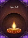 Classic card design for diwali festival Stock Photos