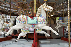 A classic carousel horse Royalty Free Stock Image