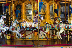 Classic carousel Stock Images