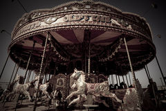 Classic carrousel Royalty Free Stock Photo