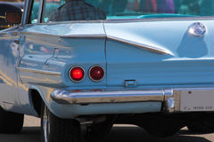 Classic cars 2. Vintage cars on display, 1960 chevy Stock Images