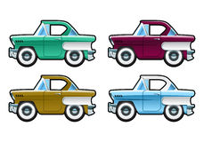 Classic Cars - 60s Royalty Free Stock Image