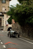 Classic cars at Bergamo Historic Grand Prix 2015 Stock Photos