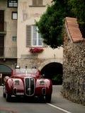 Classic cars at Bergamo Historic Grand Prix 2015 Royalty Free Stock Photography
