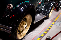 Classic cars. Close-up of classic cars locally Royalty Free Stock Photo