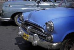 Classic cars at Cuba Stock Images