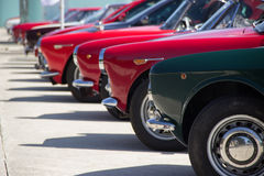 Classic cars exhibition Stock Photo