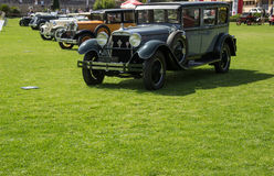 Classic cars exhibition Stock Image