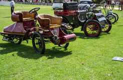 Classic cars exhibition Royalty Free Stock Image