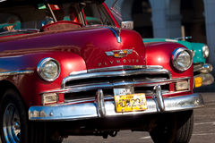 Classic cars in Havana royalty free stock image