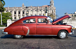 Classic cars in Havana royalty free stock photography