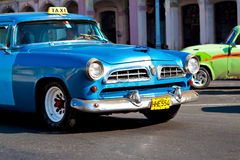 Classic cars  in Havana Royalty Free Stock Photos