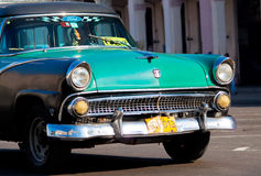 Classic cars  in Havana Stock Photo