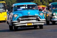 Classic cars  in Havana Stock Image
