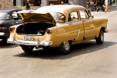 Classic cars in Havana, Cuba Stock Photo