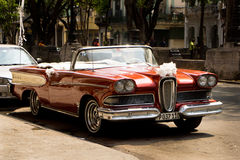 Classic cars in Havana, Cuba Stock Photos