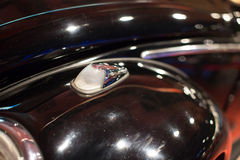 Classic cars. Lights close-up of the first part of Royalty Free Stock Photography